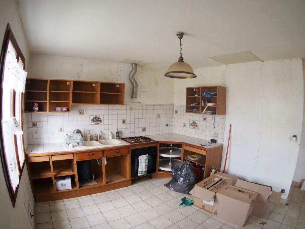Renovation cuisine rustique 2