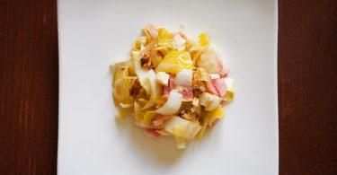 Recette salade endives jambon bris noix