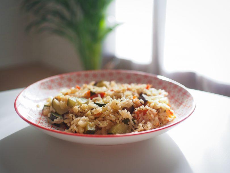 Ratatouille et riz