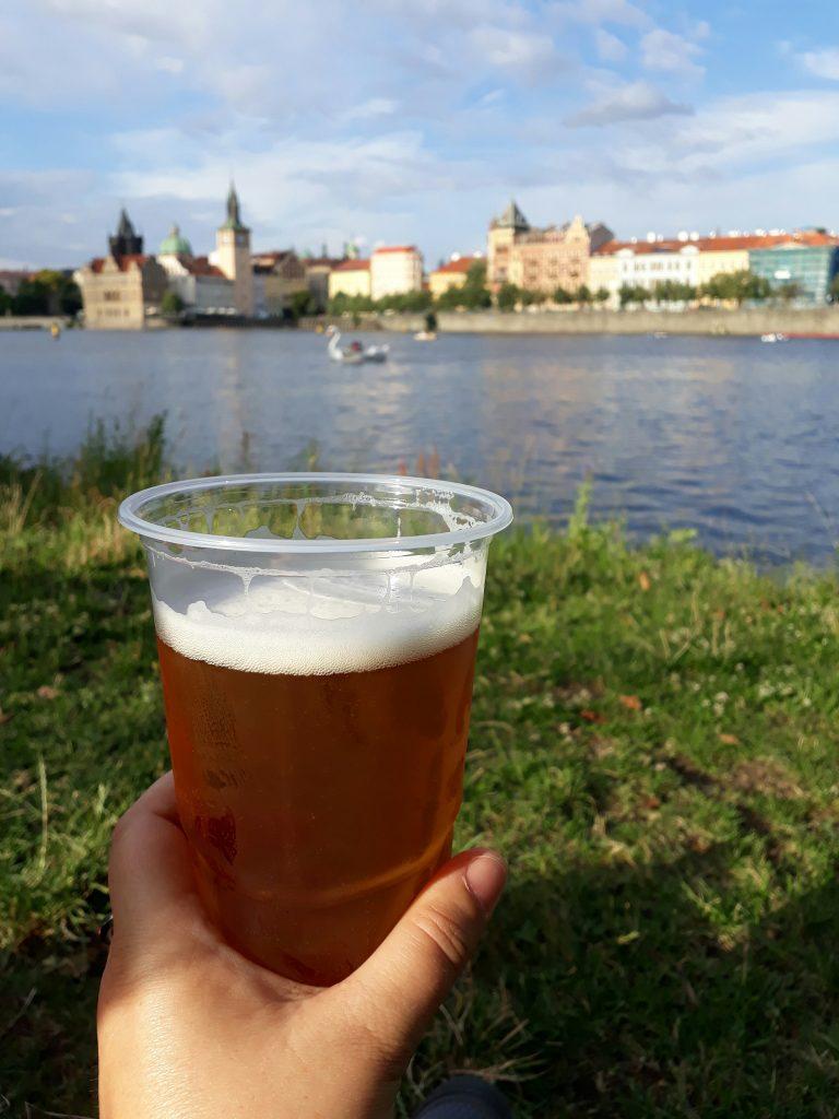 Biere à Prague